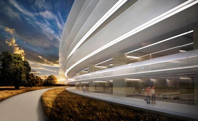 A peek into Apple's spaceship headquarters